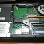 激遅ノートパソコンのHDDをSSDに交換したら爆速…とは言わないでもかなり速くなった話